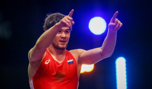 Борец Виктор Рассадин завоевал серебро на мемориале Алиева в Дагестане