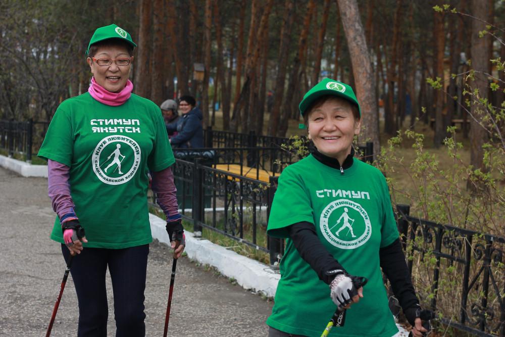 Марафон долголетия: Якутян старшего возраста призывают больше ходить пешком и получать призы