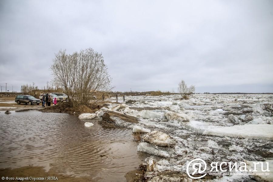 В Якутске ледоход ожидается в ближайшие сутки