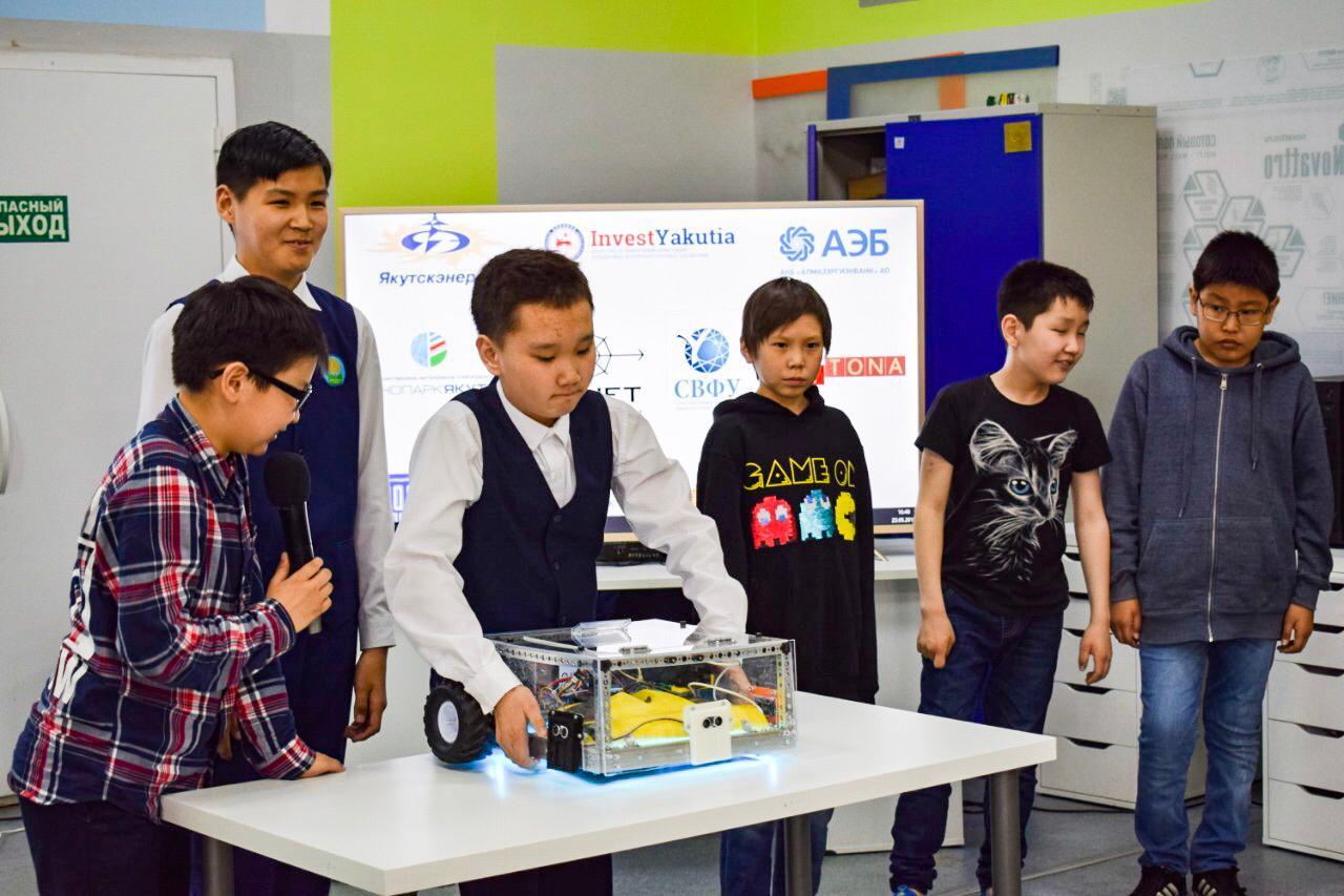 В Якутске учащиеся Кванториума получили деньги на реализацию лучших проектов будущего
