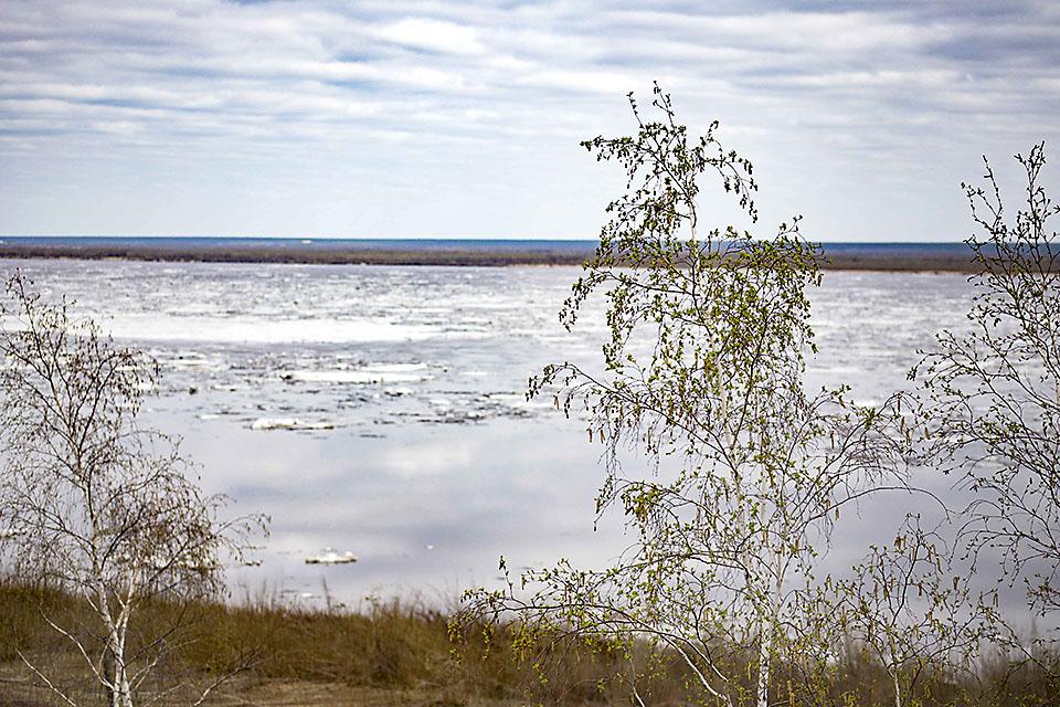 Паводковая обстановка на территории Якутии на 13 часов 20 мая
