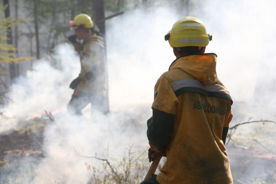 В Якутии локализовано пять лесных пожаров