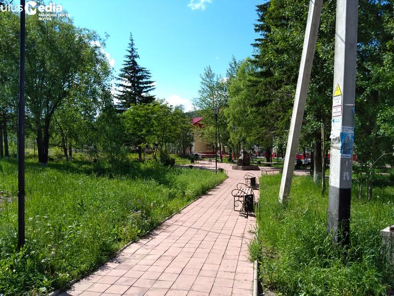 В городском сквере Алдана появятся фонтан, беседки, арка