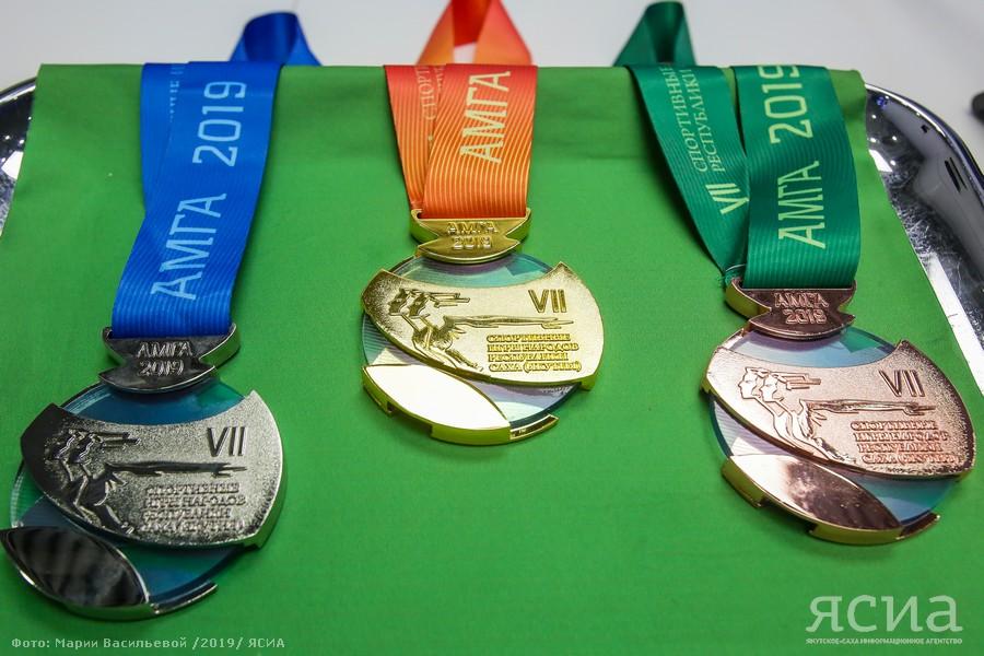 В Якутске презентовали медали VII Спортивных игр народов республики
