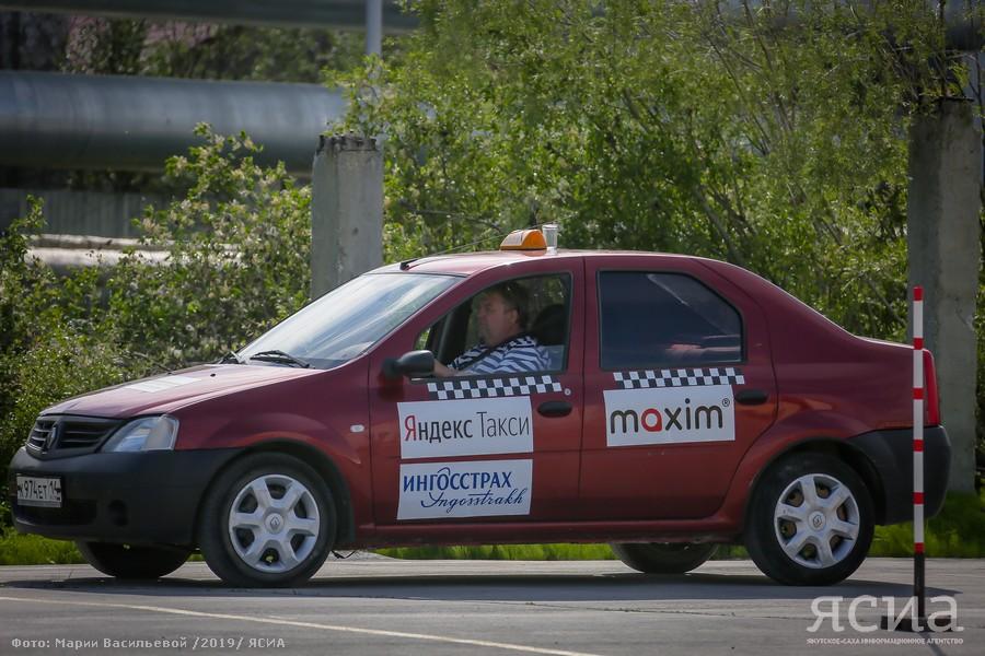 Якутские таксисты соревнуются в мастерстве вождения