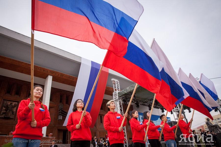 День России в Якутске: Концерты, квесты, флешмобы