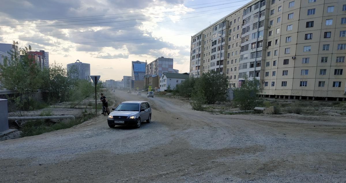 При строительстве дорог в Якутске предусмотрят велодорожки