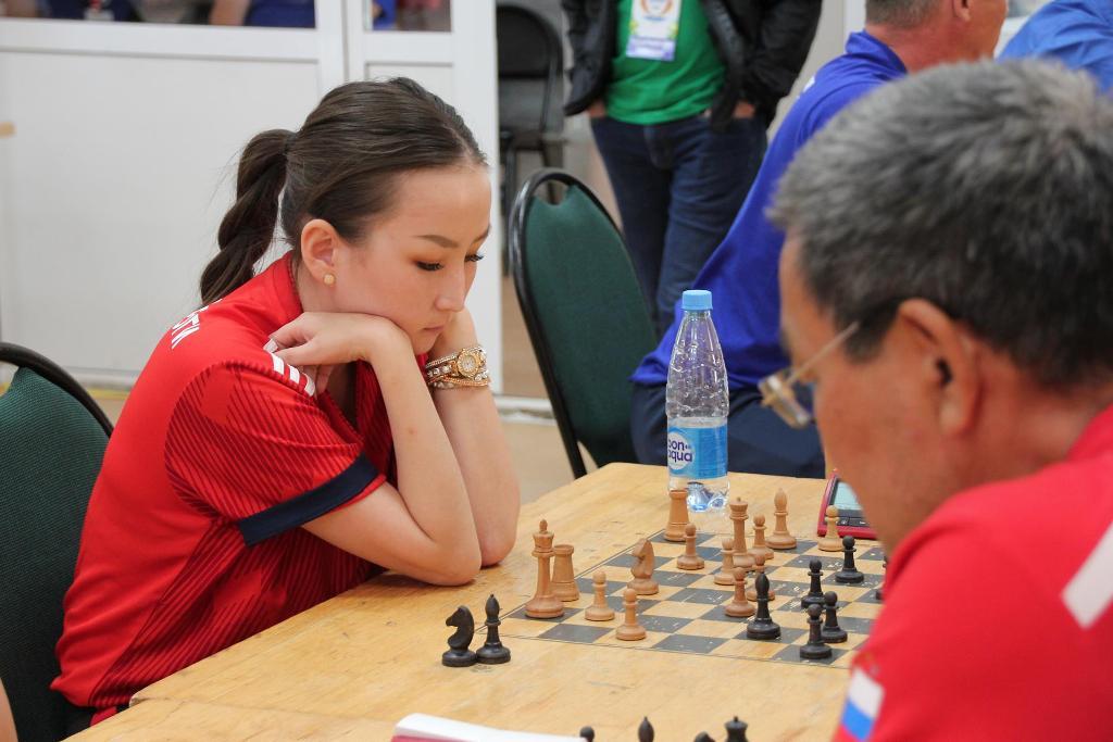 На IV Спартакиаде трудящихся определилась сильнейшая команда в шахматах