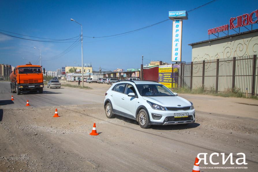 В 2019 году на ремонт дорог Якутска будет направлено 1,5 млрд рублей
