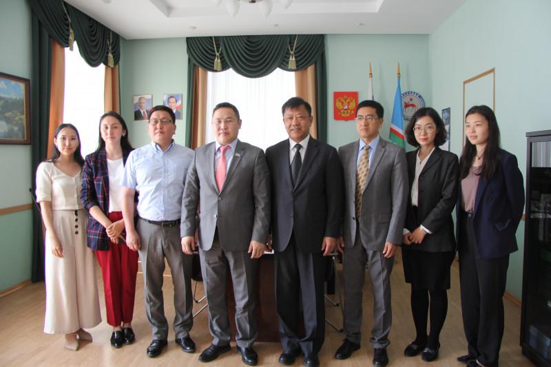 В Якутск прибыла делегация Китайской академии современных международных отношений