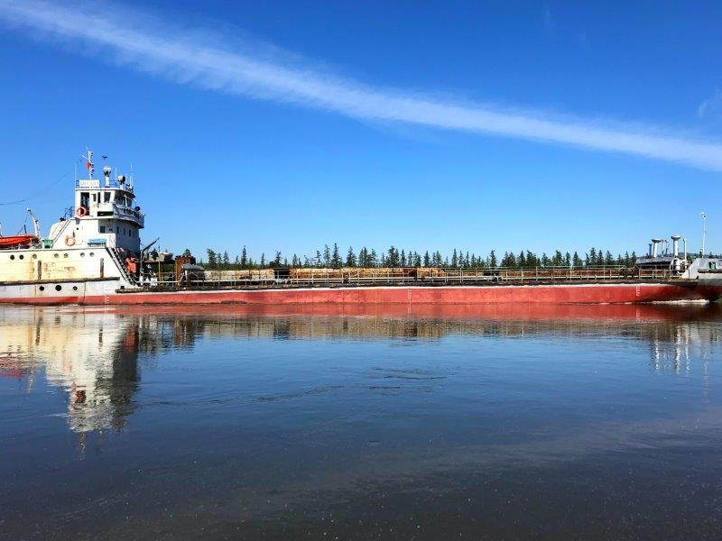 Теплоэнергосервис осуществляет доставку топлива на зиму водным путем