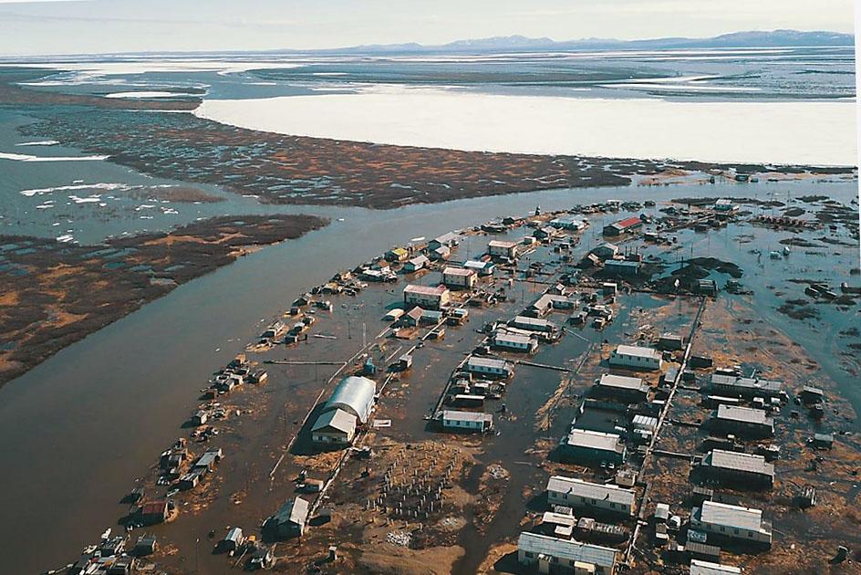 Село Походск Нижнеколымского района начало топить