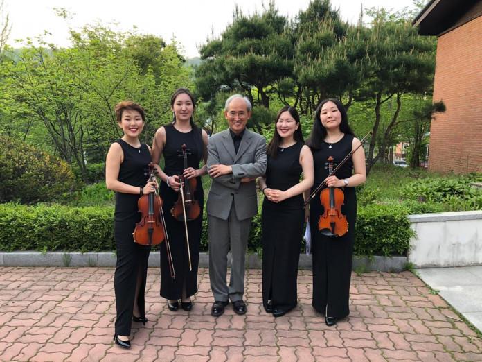 Квартет скрипачек «Мидлс»: от Кореи до «Розовой чайки»
