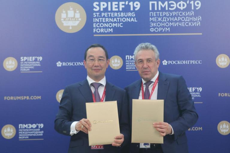 Глава Якутии рассказал, какой эффект дадут подписанные на полях ПМЭФ-2019 соглашения