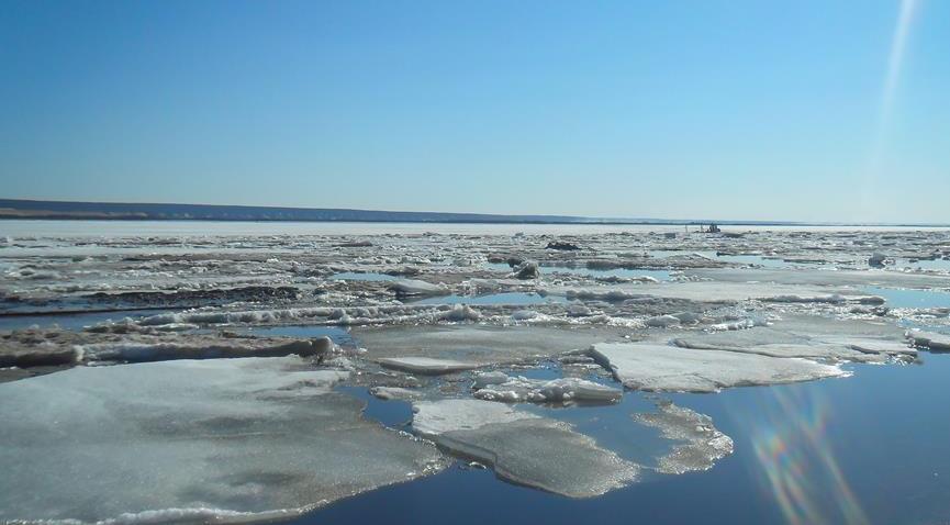 Уровни воды на реках Якутии ниже критических отметок