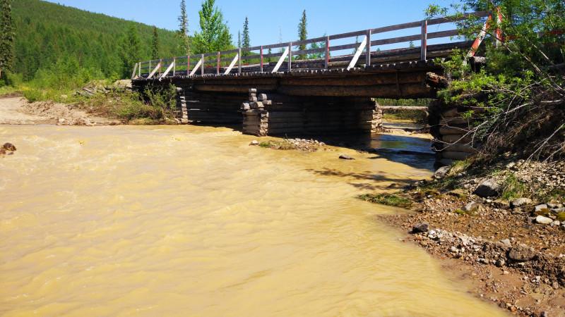 Поверхностные воды продолжают загрязнять реки Талая, Якокит и Алдан