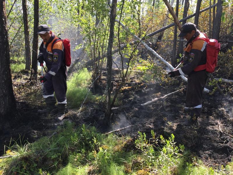 Верхоянскому улусу на тушение природных пожаров выделят средства из резервного фонда республики