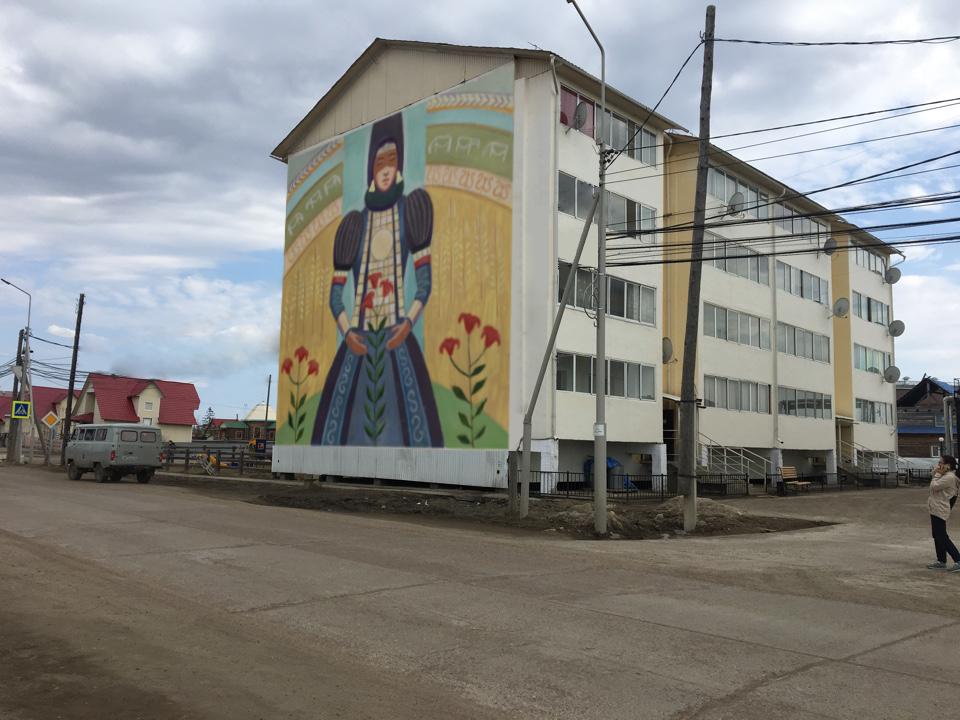 Стрит-арт преобразит города и села Якутии