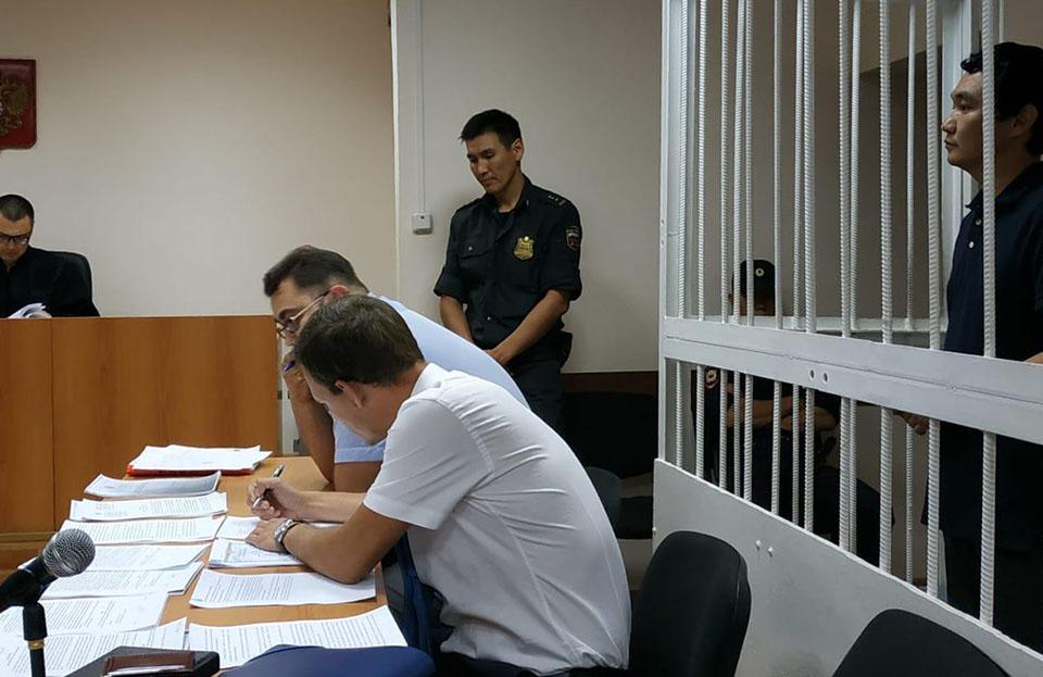 Василий Гоголев отпущен под домашний арест