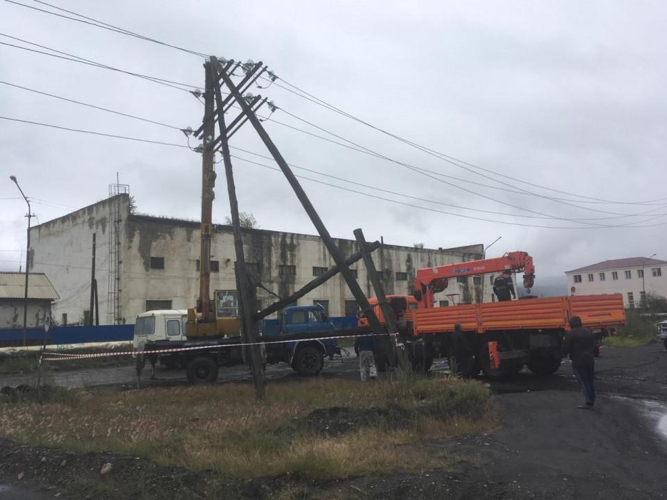 Энергетики восстановили электроснабжение в поселке Усть-Нера Оймяконского района