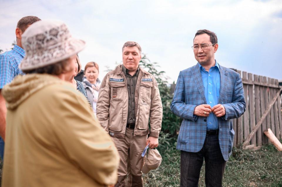 Глава Якутии дал оценку перспективам развития сельского хозяйства Олекмы