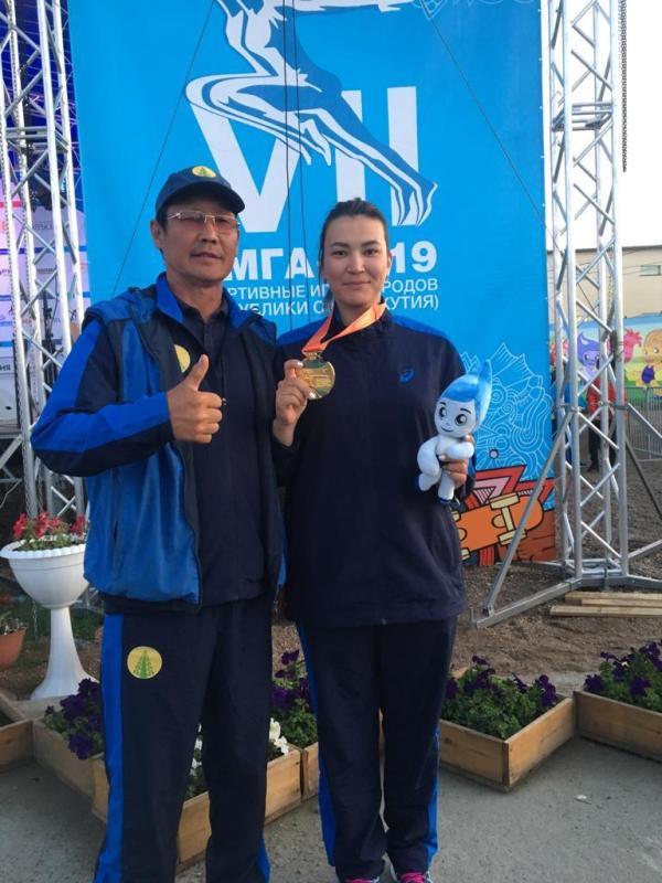 Сотрудник «Сахатранснефтегаза» Надежда Мурзина — чемпионка VII Игр народов Якутии