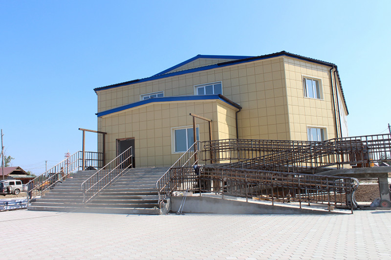 В якутском селе Дикимдя завершается строительство ДК по нацпроекту «Культура»