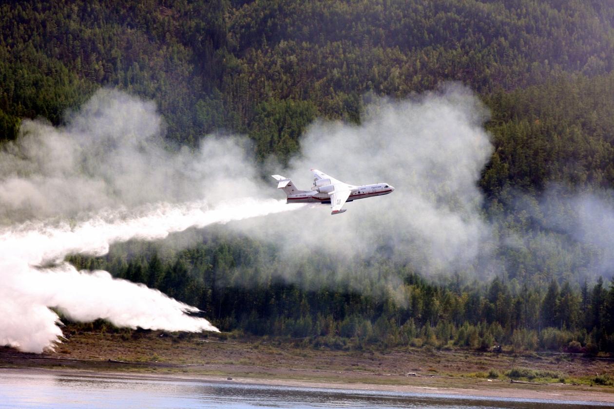 Денис Белозеров: Один из самолетов Бе-200 прекратит работу в Якутии