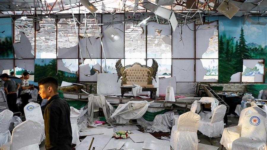Число погибших при взрыве на свадьбе в Кабуле возросло до 63