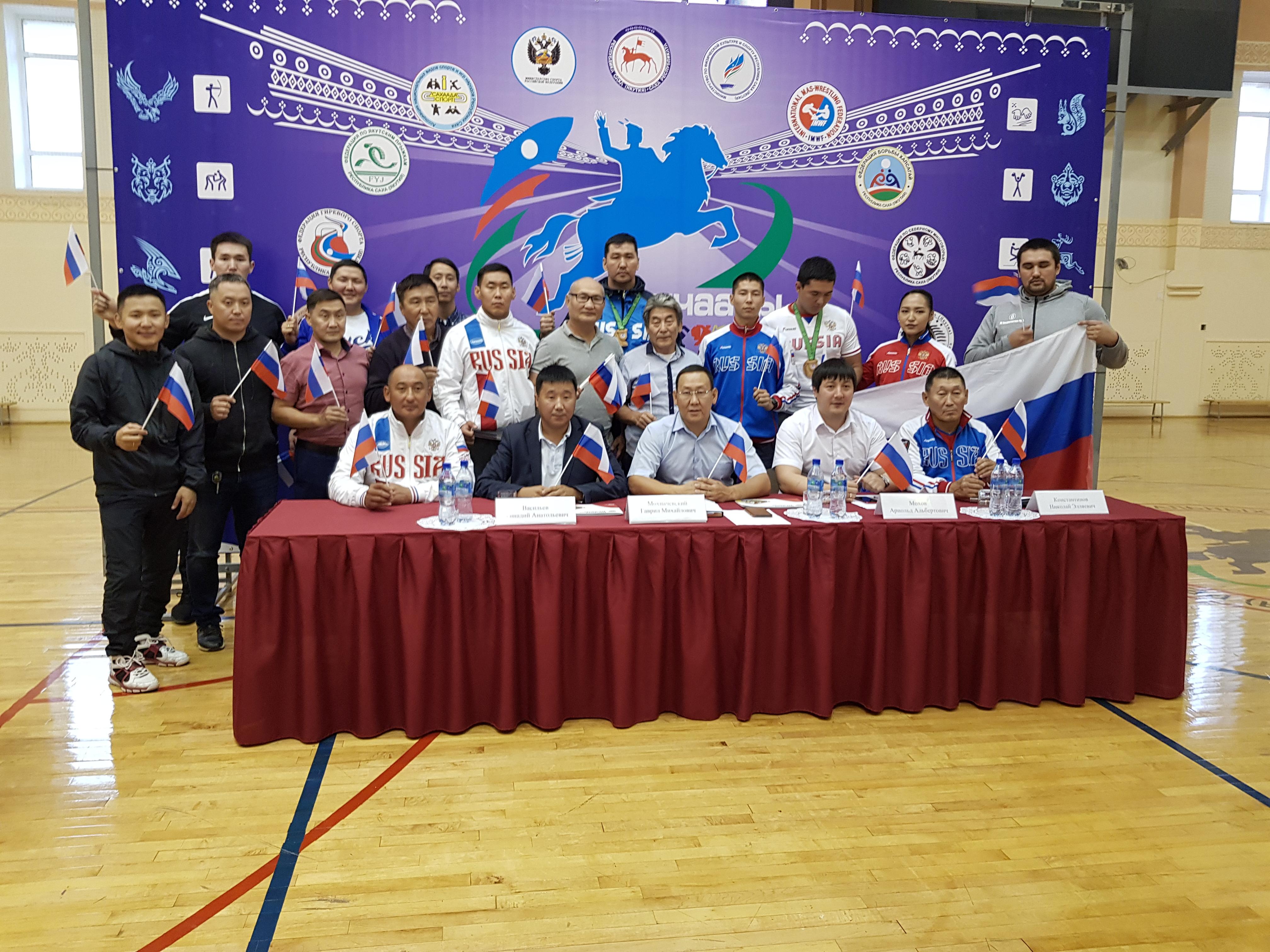 Якутяне завоевали пять золотых медалей на II этапе Кубка мира по мас-рестлингу