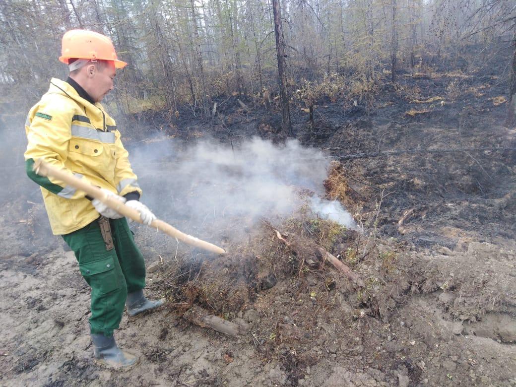 В Якутии за сутки ликвидировали семь пожаров