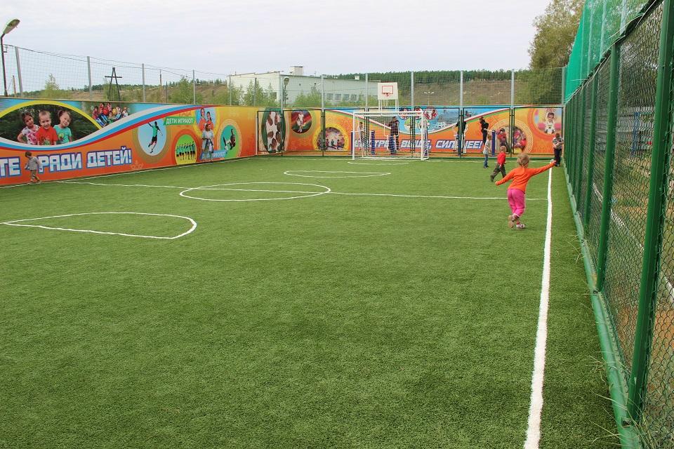 Целевой фонд будущих поколений за три года  подарил детям Якутии 97 игровых и спортивных площадок