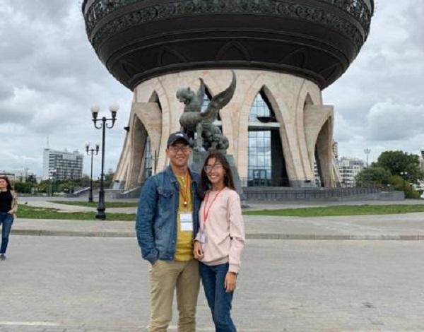 Молодая семья Чымыровых принимает участие во всероссийском молодежном туристическом форуме