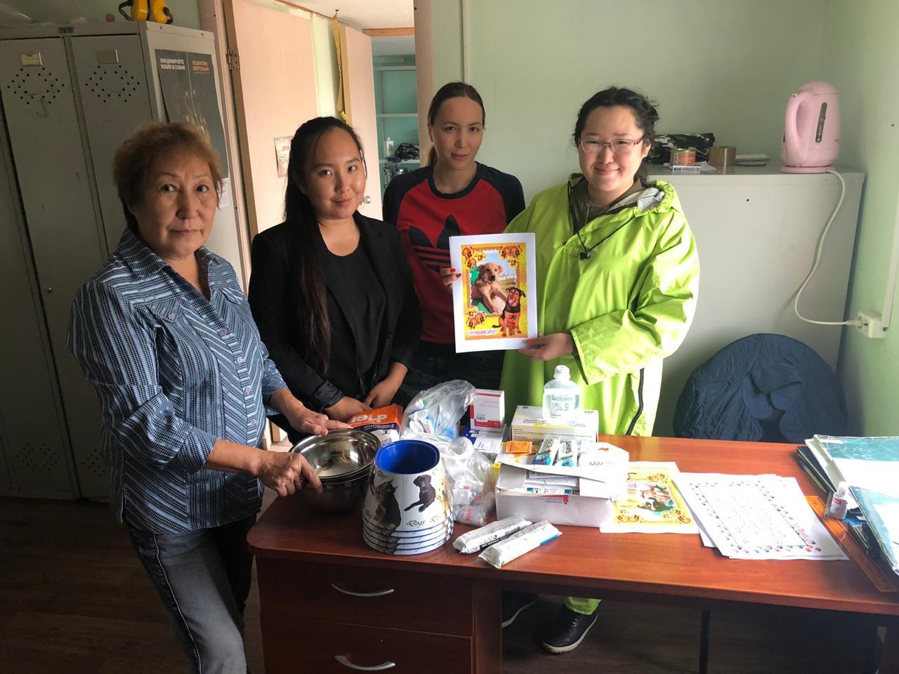 В Якутске День защиты животных отметили благотворительными акциями