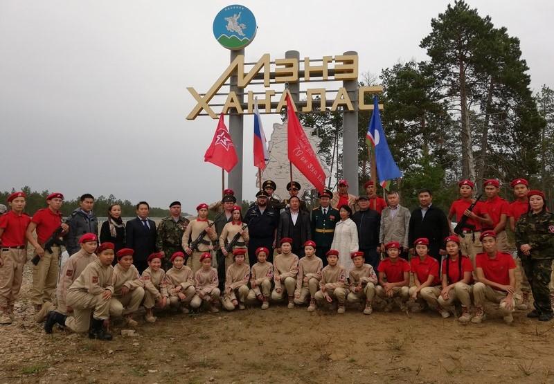 В Мегино-Кангаласский улус прибыло Знамя Победы