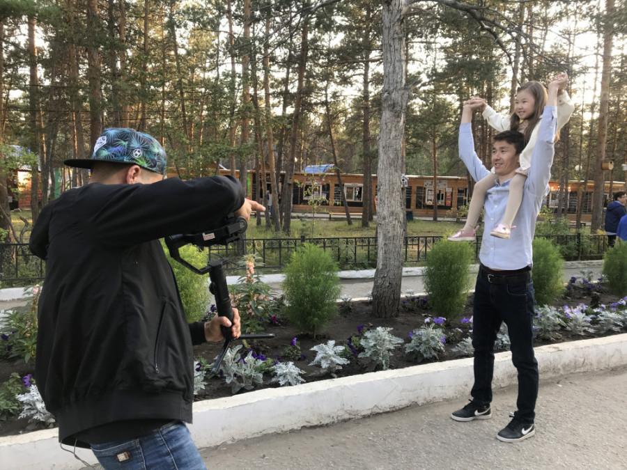 Съёмочная группа из Владивостока снимает в Якутске ролик для ВЭФ-2019