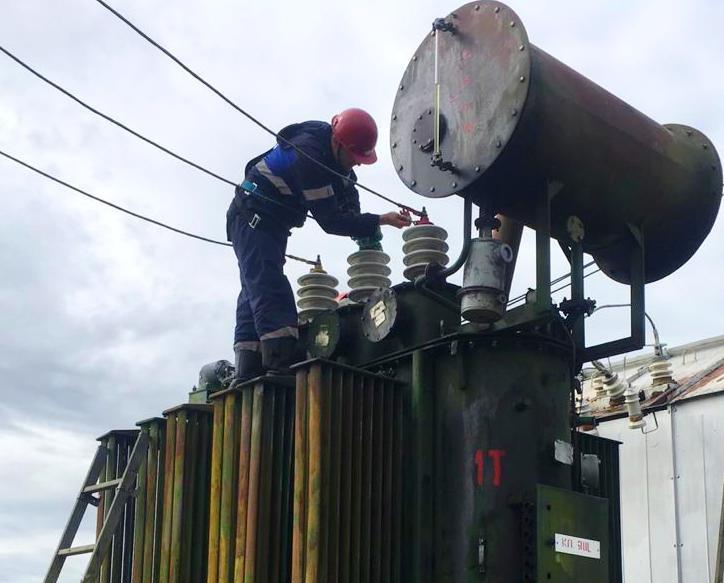Восстановлено электроснабжение большинства потребителей вилюйской группы районов Якутии
