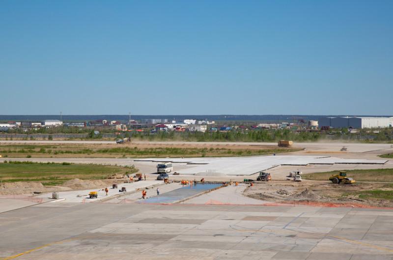 Второй этап реконструкции взлетно-посадочной полосы аэропорта «Якутск» перенесли на 2021 год