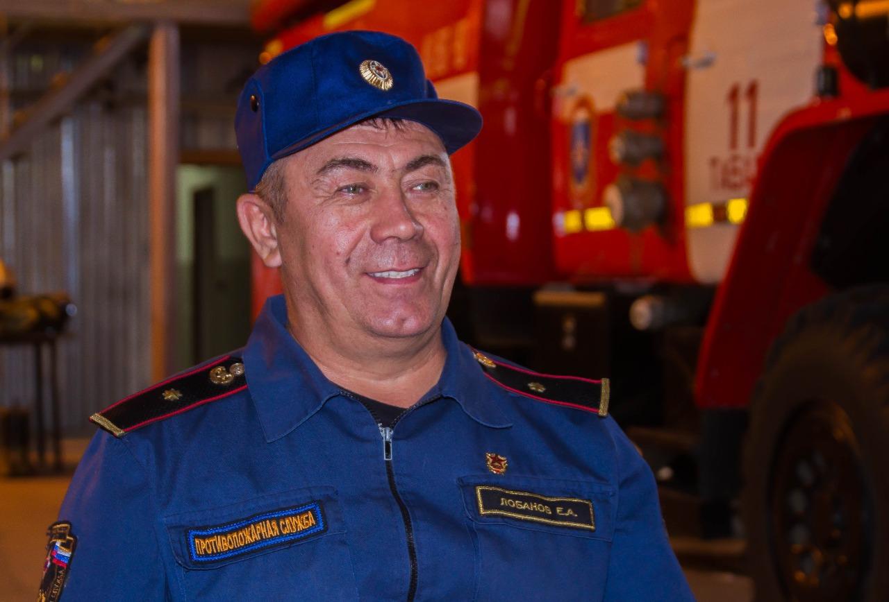 «Наши люди»: Ветеран-пожарный Евгений Лобанов