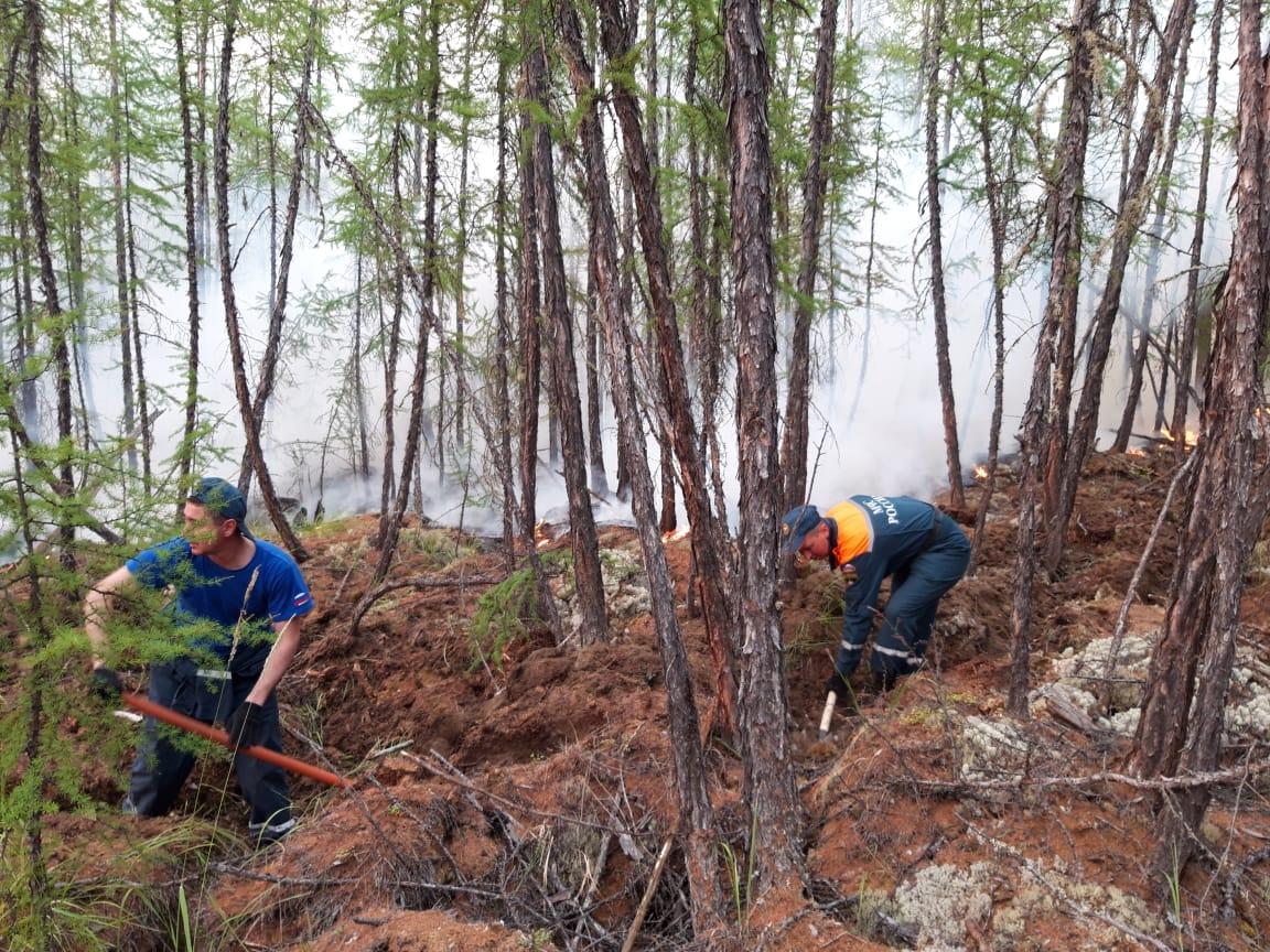 За сутки в Якутии ликвидировали 39 пожаров