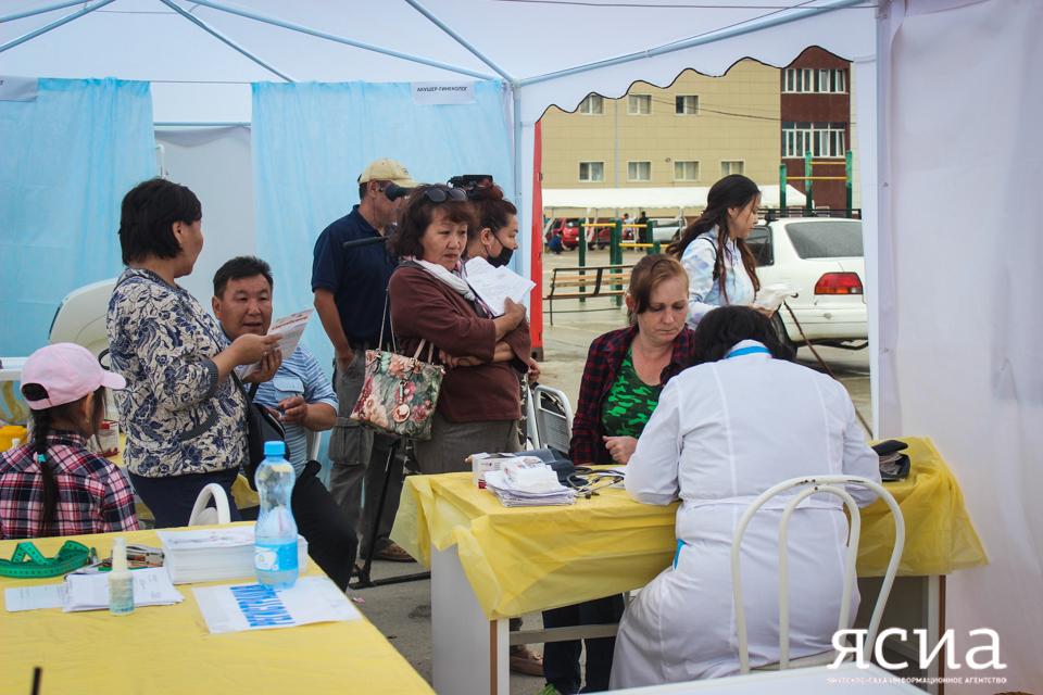 34 тысячи якутян уже прошли медосмотры в рамках акции #ЗдравОсмотр