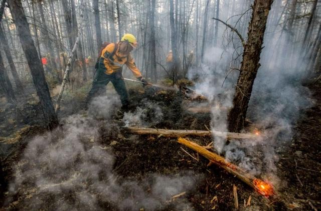 Рослесхоз поручил Якутии продолжать наращивать силы для тушения лесных пожаров