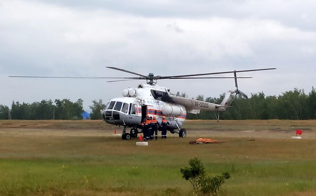 В Оленекский и Верхоянский районы направят пожарные вертолеты