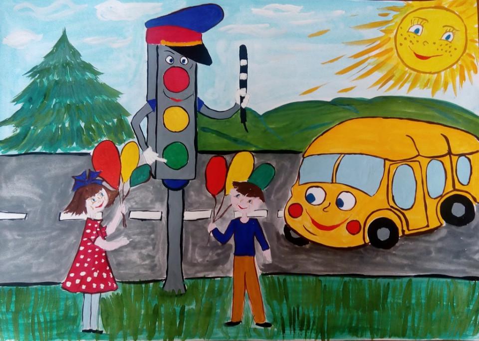 Принимаются и комиксы, и обучающие программы: Всероссийский конкурс «Безопасная дорога детям»