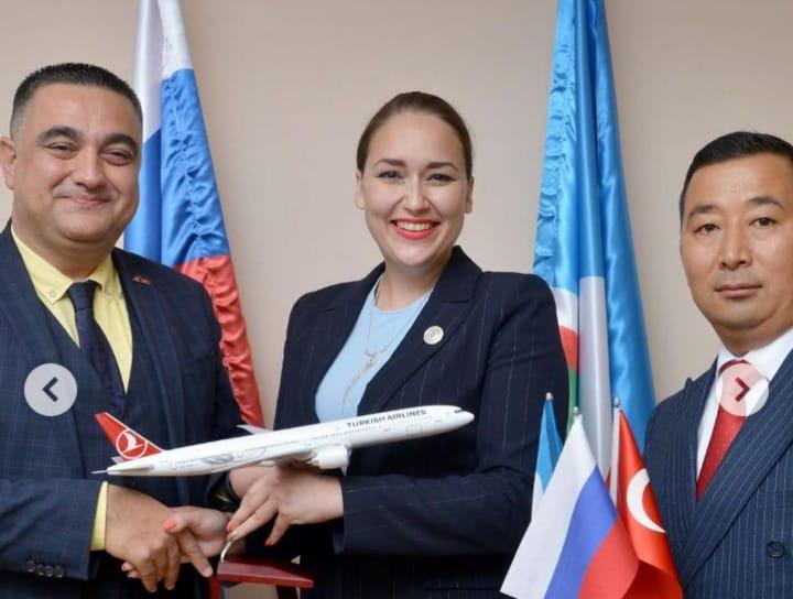 «Turkish airlines» рассчитывает на выполнение постоянных рейсов между Якутией и Турцией