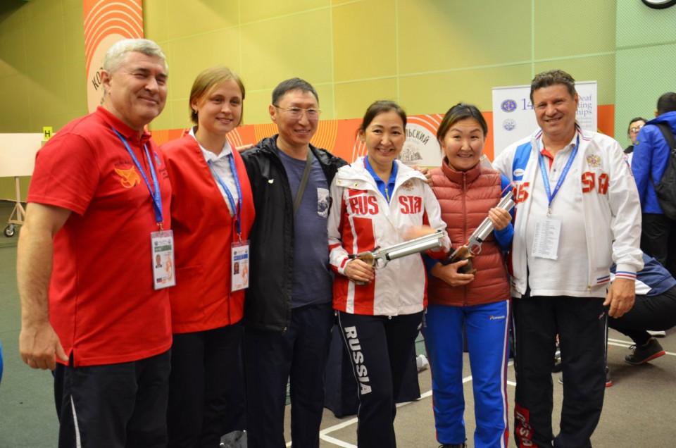 Якутские стрелки выиграли золото и серебро чемпионата Европы по пулевой стрельбе