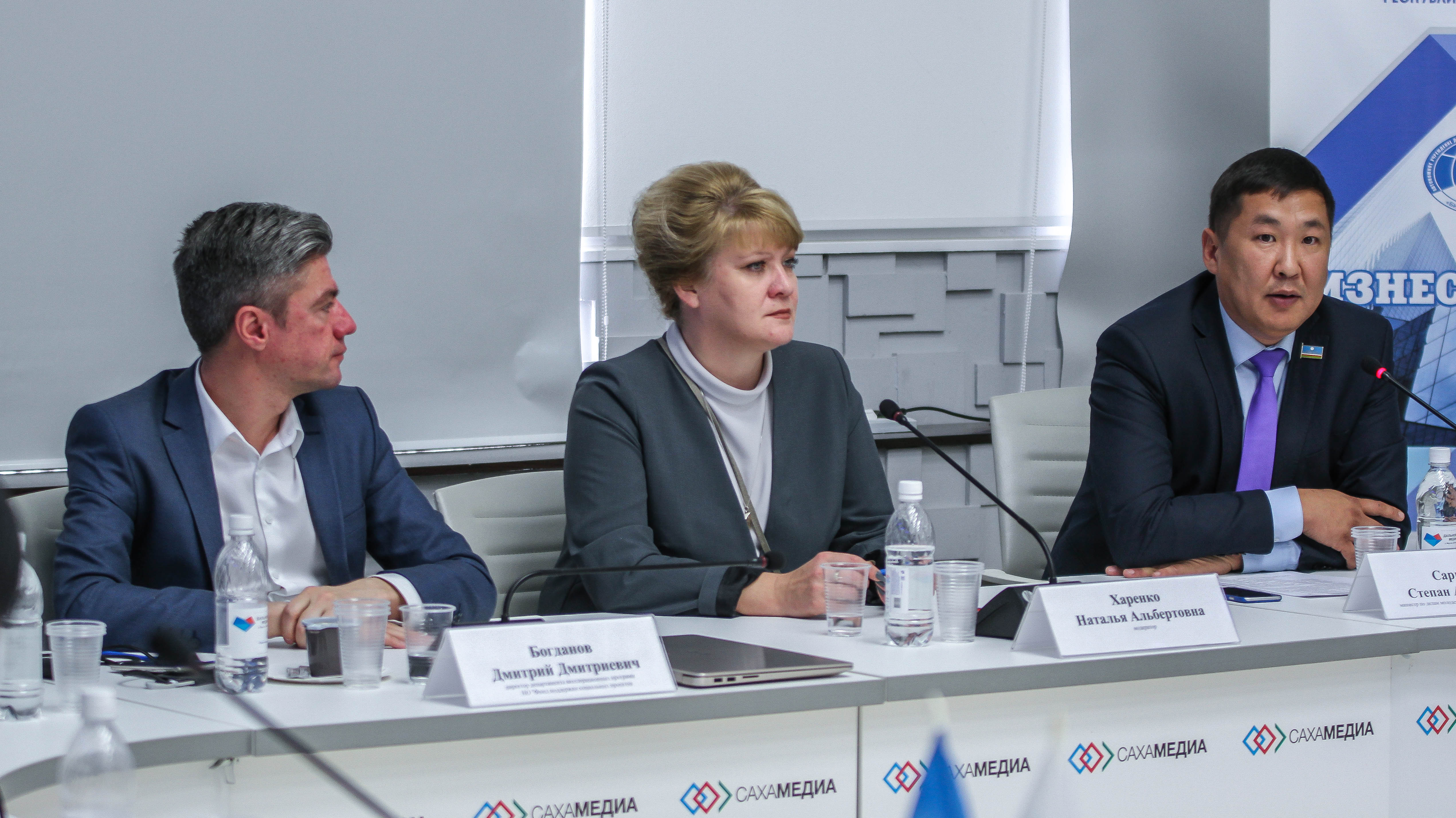Степан Саргыдаев: В Якутии ежегодно выделяются гранты для начинающих предпринимателей