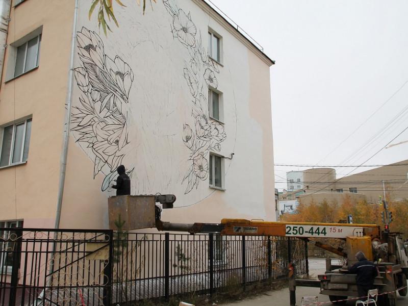 Один из лучших художников стрит-арта украсит здание колледжа дизайна в Якутске