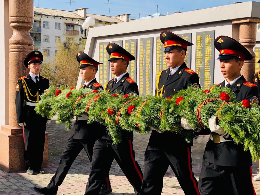 В Якутске почтили память героев Второй мировой войны