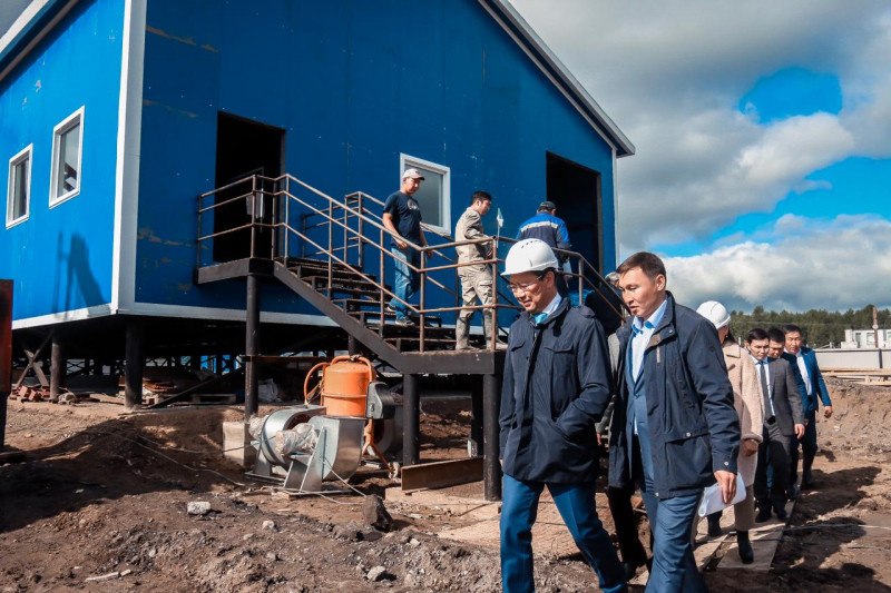 Вместо трех устаревших заработает одна новая котельная в селе Кыйы Таттинского улуса Якутии